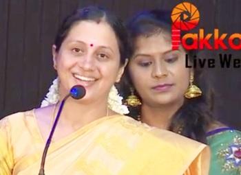 Vinnaithandi Vantha Angel Film Audio Launch actress Devayani and Director Rajakumaran Speech