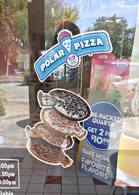Baskin Robbins Polar Pizza