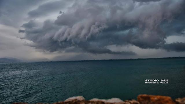 Βροχές στην Πελοπόννησο το απόγευμα