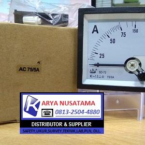 Jual Analog Panel Meter 0 - 75/5 A di Jatim