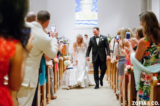 St. Mary's Our Lady of the Isle Wedding