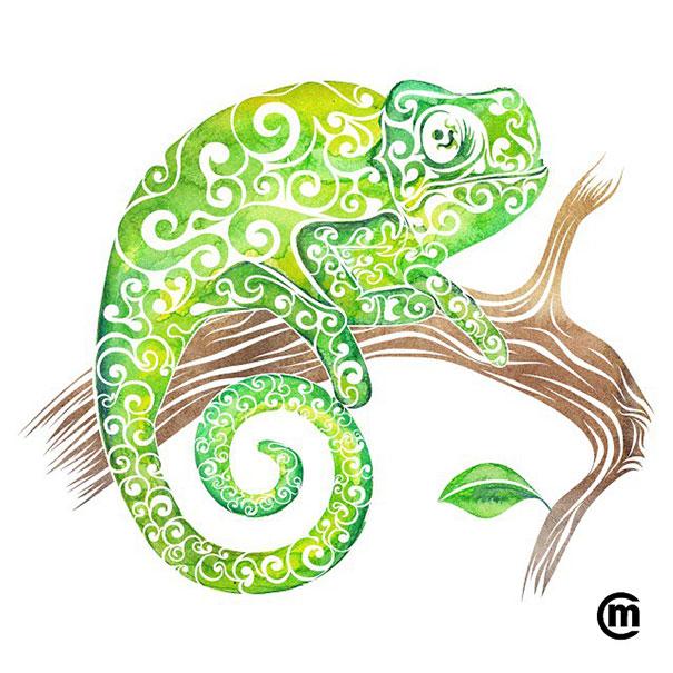 Swirly Animal Drawing Projects Art Craft Ideas