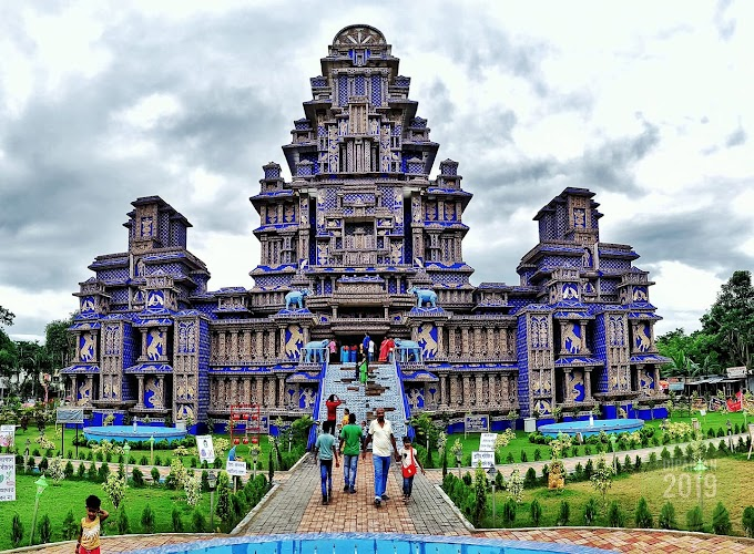 Kalyani ITI More Durga Puja Mandap 2019 , Kalyani, Kolkata Suburban, WB, India