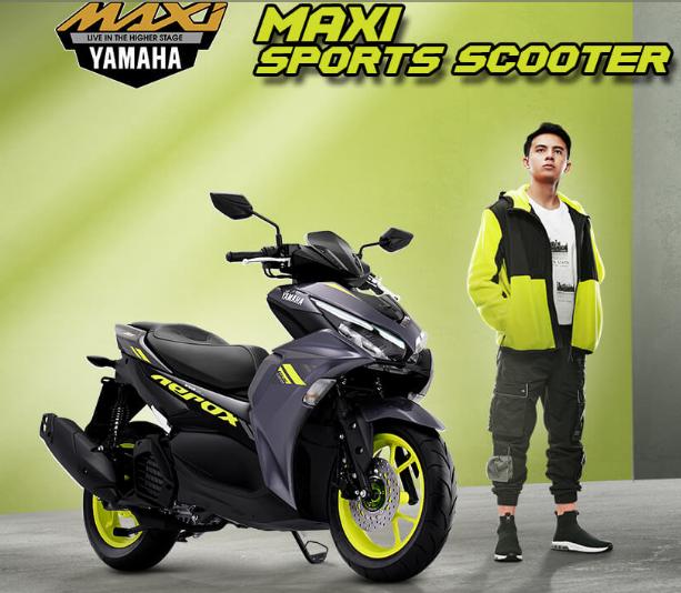 Pilihan Warna Yamaha Aerox 155 Connected MY2021 Silver Menggoda Sekali
