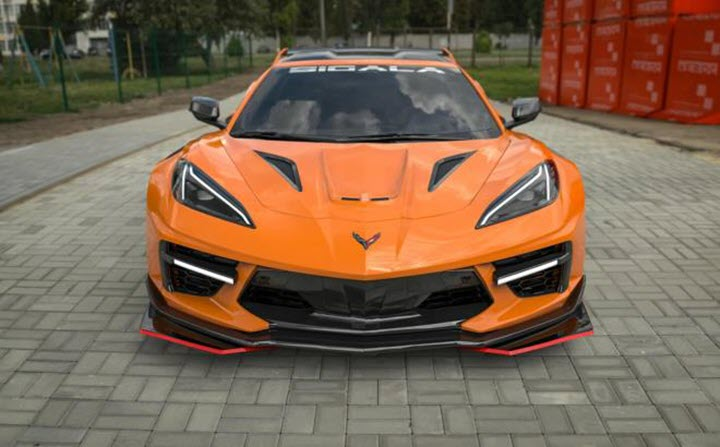 Bản độ Chevrolet Corvette Stingray 2020 siêu chất