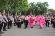 Satbrimobda Banten Laksanakan Upacara Kenaikan Pangkat Pengabdian