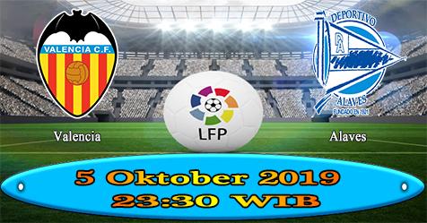 Prediksi Bola855 Valencia vs Alaves 5 Oktober 2019