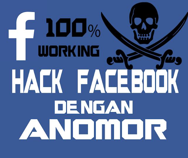 Cara Hack Facebook dengan Anomor Terbaru 2017