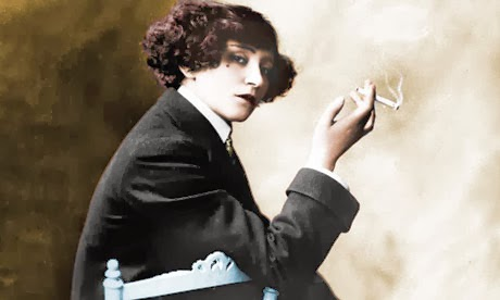 Colette smoking