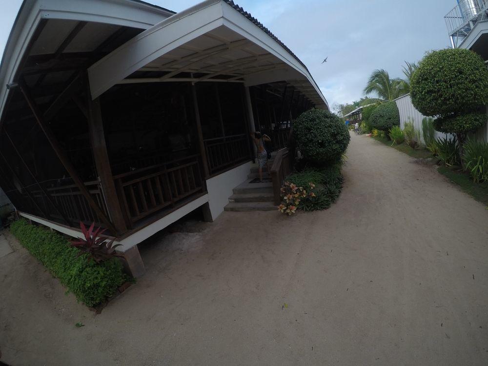 Outside Chloe Café in Anika Island Resort