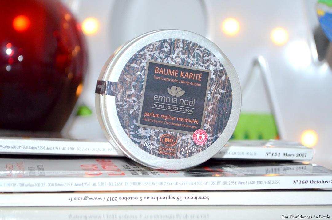 emma noel - baume - baume karite - beurre de karite