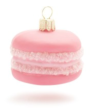 French Macaroon Ornament from Sur La Table