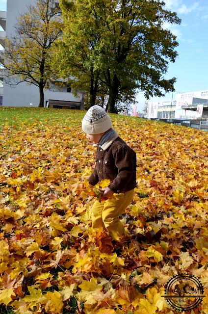 Ciepły, jesienny wiersz dla syna