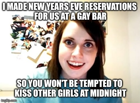 10 Memes to Get You Ready for New Year's Rockin' Eve 2016 ...  |Midnight Kiss Meme