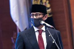 Sandiaga Uno Tinjau Penerapan Protokol Kesehatan Jelang Rencana Pembukaan Bali