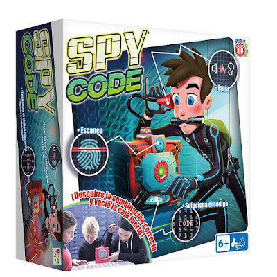 JUGUETES - SPY CODE Juego de mesa infantil IMC TOYS | Jugadores: 2-4 | Edad: +6 años Comprar en Amazon España