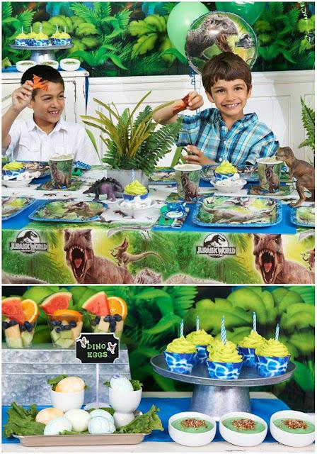 Jurassic World Birthday Party Ideas