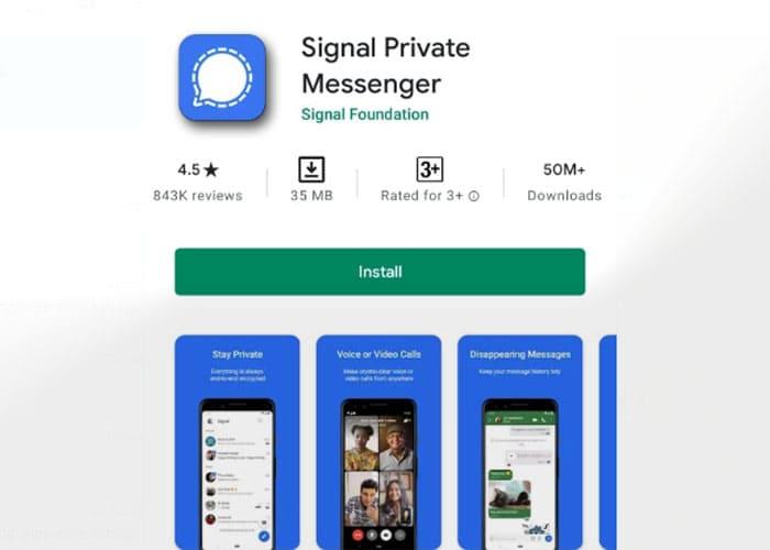 Fitur Unggulan dari Aplikasi Signal
