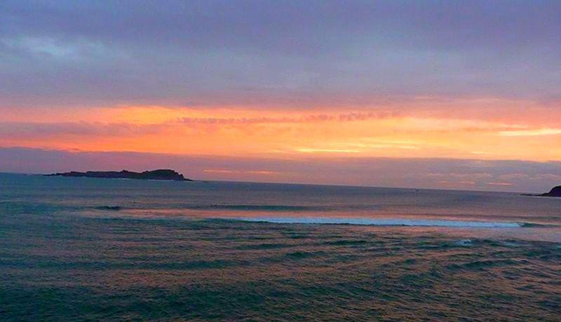 Surf30 Mundaka Surf tubos amanecer