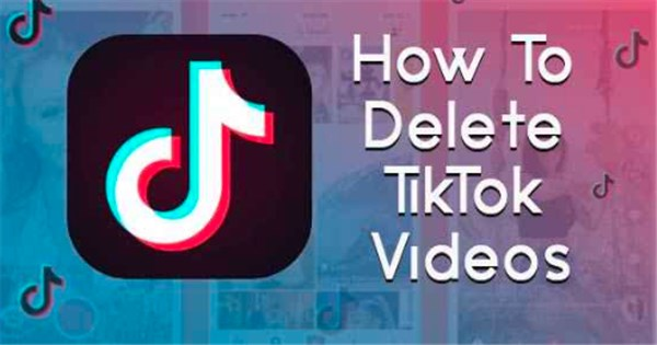 how to delete videos on tiktok