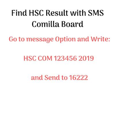 Comilla Board HSC Result 2019