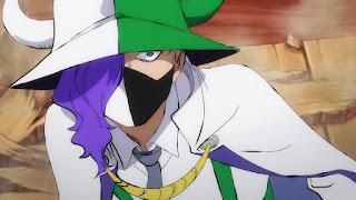 ワンピースアニメ 989話   百獣海賊団 飛び六胞 ページワン ペーたん PAGE ONE   ONE PIECE Beasts Pirates Tobiroppo