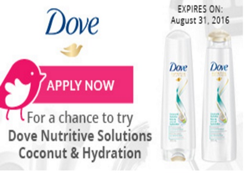Chickadvisor Dove Nutritive Solutions Campaign