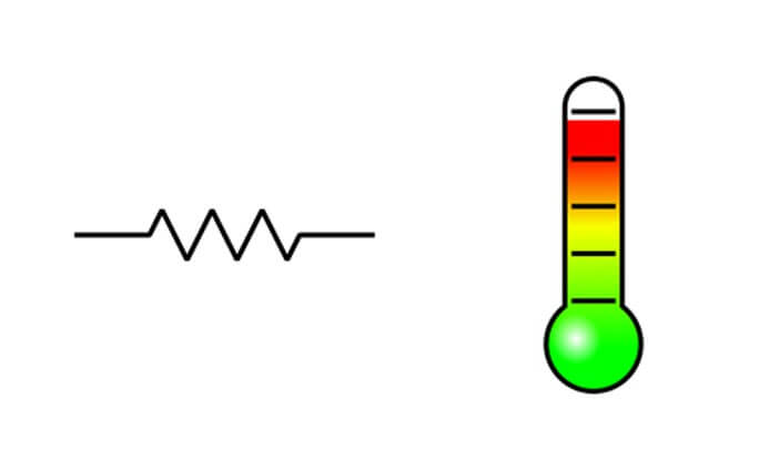 relationship between resistance and temperature