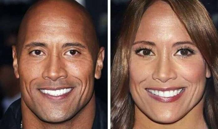 Dwayne Johnson would become Diana, a bodybuilder and model.