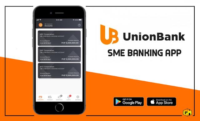 unionbank SME business app gizmo manila