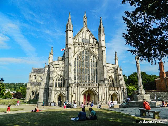 Catedral de Winchester, Inglaterra