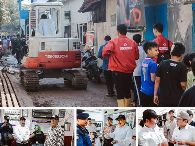 Pemkot Bandung Langsung Benahi Lokasi Banjir Bandang di Cijambe