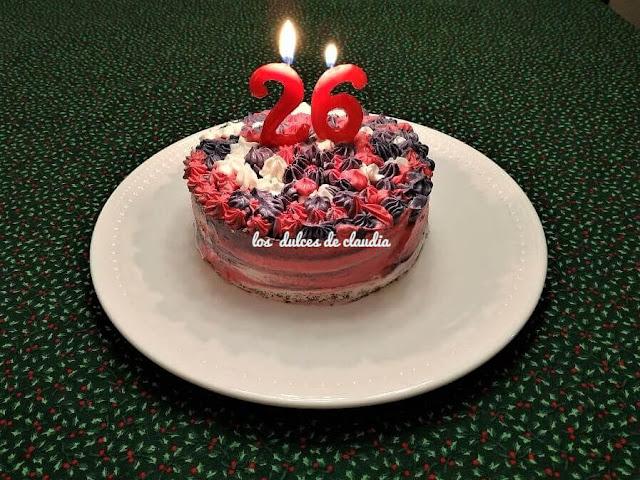 bizcocho de cumpleaños 26