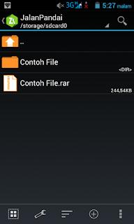 Cara Ekstrak File ZIP, RAR, 7z dengan Android
