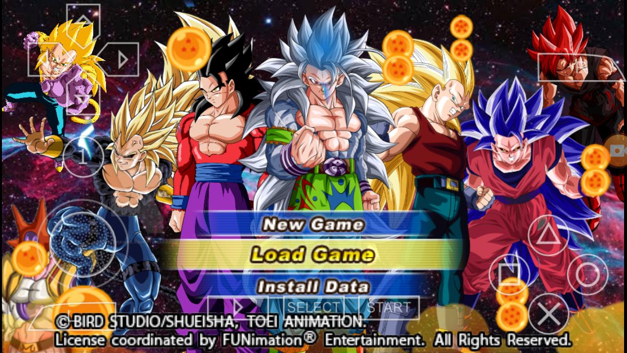 Dragon Ball Z AF Tenkaichi Tag Team Mod PSP