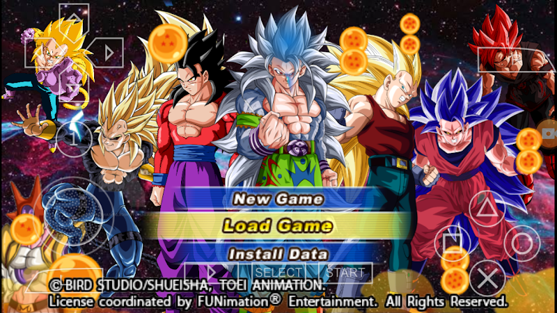 Android Game Dragon Ball AF Tenkaichi Tag Team Mod Download