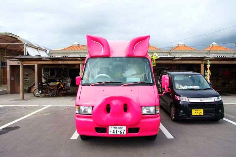 pink pig mobile, Tonga Moblie, pork