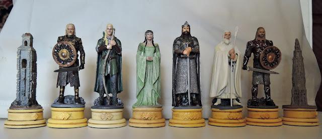 Шахматы «Властелин Колец»