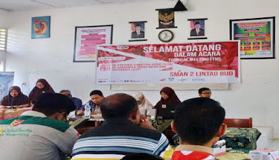 lomba pbb,sman 2,smpn 2,lintau buo,technical meeting