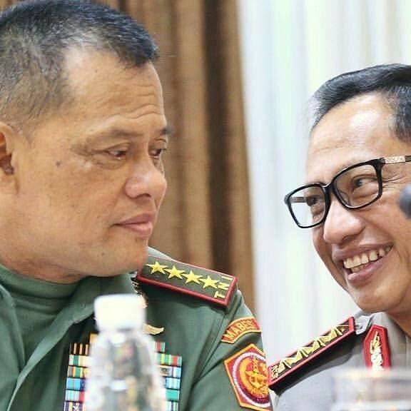 Jendral Gatot Nurmantyo dan Pak Tito - Instagram