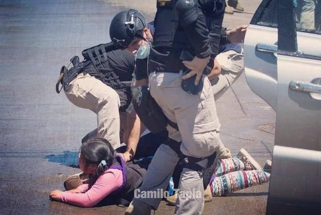 Operativo policial en Ercilla