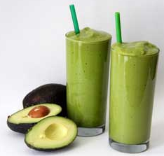 Avocado juice & Milk