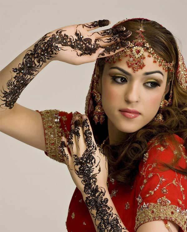 Indian Wedding Hairstyles Pictures: Tysha's Blog: Indian Wedding Hairstyles For Long