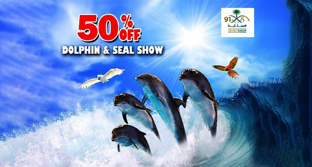 50% off on Dolphin and seal show 2021