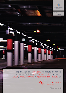 trabajo firmado entre Cuevas y Montoto Consultores e Isolux Corsán Aparcamientos.