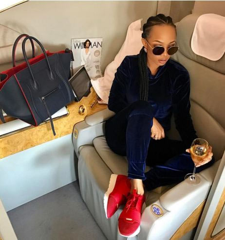 What recession? Toke Makinwa and Tiwa Savage fly N2.5m first class tickets to Dubai
