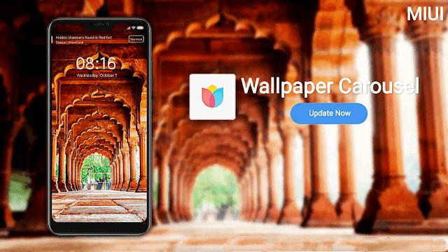 تحميل Mi Wallpaper Carousel  - تطبيق قفل الشاشة التلقائي لتغيير خلفية الشاشة لنظام الاندرويد من شاومي