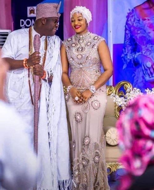image result for ooni of ife wife Olori Prophetess Naomi Morenike Oluwaseyi