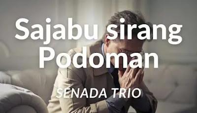 chord lagu sajabu sirang podoman