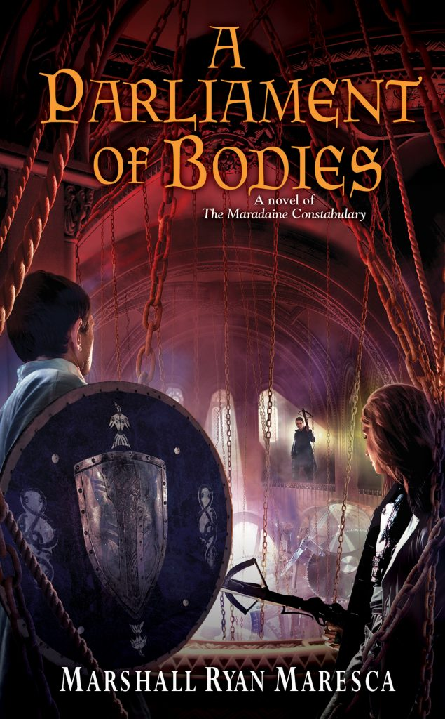 A Parliament of Bodies (Maradaine Constabulary Bk 3)